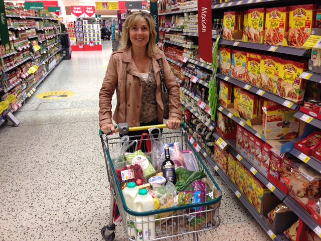 Morrisons trolley