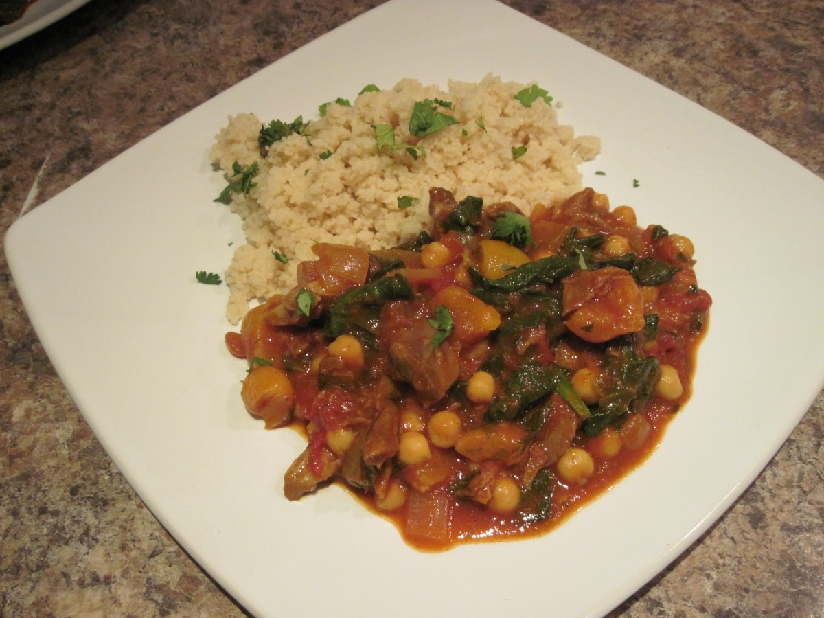 Waste Not Want Not…Left-over lamb tagine
