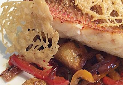 Pan-fried Red Snapper
