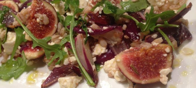 Fig & Feta Salad